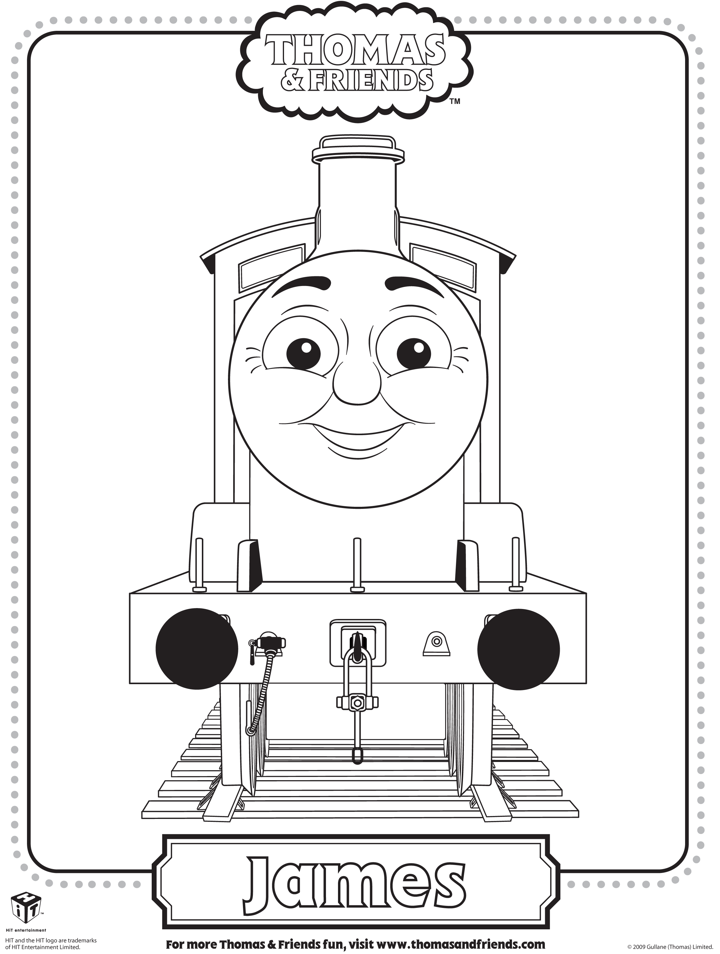 thomas and friend coloring pages - photo#20